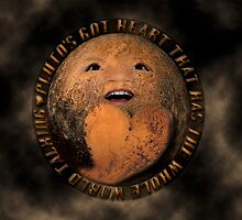 PLUTO'S GOT ♥ THAT HAS THE WHOLE WORLD TALKING-VERSION TWO..-PICTURE-PILLOW-TOTE BAG ECT. by ✿✿ Bonita ✿✿ ђєℓℓσ