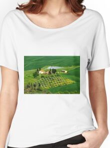 Val d'Orcia  Women's Relaxed Fit T-Shirt
