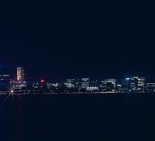 Night view from South Perth by BigAndRed