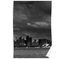 Wintry Sydney  Poster