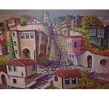 Plovdiv old town Photographic Print