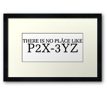 Stargate SG1 - No place like P2X-3YZ Framed Print