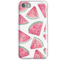 Watercolour Watermelons iPhone Case/Skin