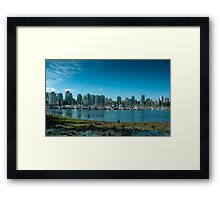 Vancouver - Canada Framed Print