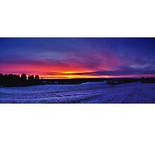 Norwegian Sunrise Photographic Print