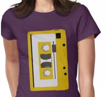 Prerecorded music cassettes Womens Fitted T-Shirt