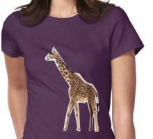 giraffe Womens Fitted T-Shirt