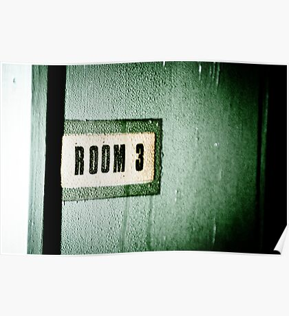 Room 3 Poster