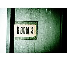 Room 3 Photographic Print
