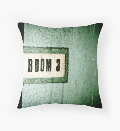 Room 3 Throw Pillow