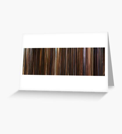 Moviebarcode: The Godfather: Part II (1974) Greeting Card