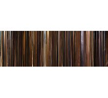 Moviebarcode: The Godfather: Part II (1974) Photographic Print