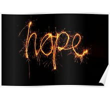 Hope - Light In The Darkness Poster