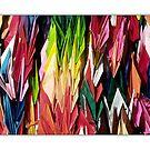 Paper Cranes by prbimages