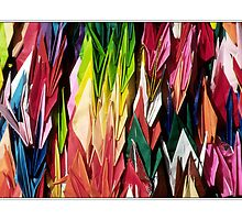 Paper Cranes by prbimages