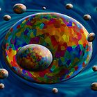 Universe in motion by Dulcina