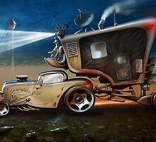 My ten wheel house by DanielVijoi