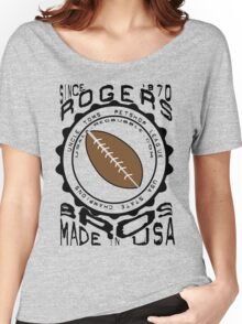 usa new york tshirt by rogers bros co Women's Relaxed Fit T-Shirt