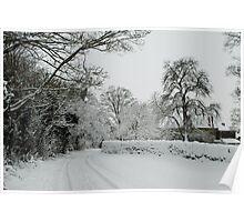 Water Lane,Shutlanger Poster