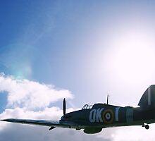 Hawker Hurricane Replica by Louise Maton