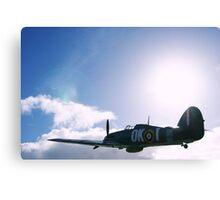 Hawker Hurricane Replica Canvas Print