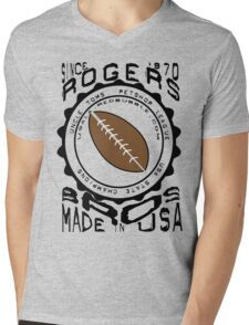 usa la tshirt by rogers bros Mens V-Neck T-Shirt