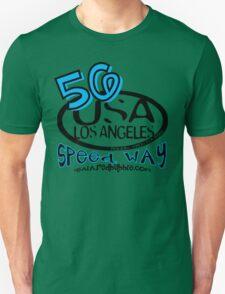 usa los angeles tshirt by rogers bros co Unisex T-Shirt