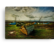 Estuary Evening Canvas Print