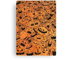 Pumpkin Town Canvas Print