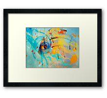 underwater fantasy II Framed Print