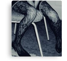More Chair, More Legs Canvas Print