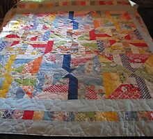 Quilt From 1930s Prints by YouBet