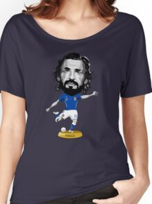 Pirlo figure Women's Relaxed Fit T-Shirt