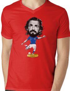 Pirlo figure Mens V-Neck T-Shirt