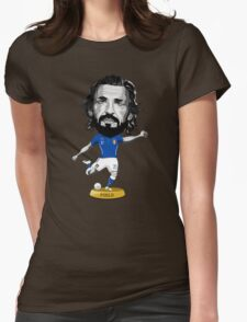 Pirlo figure Womens Fitted T-Shirt