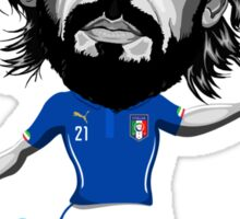 Pirlo figure Sticker