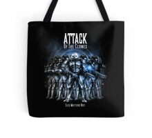 Sontaran's: Attack of the Clones - Size Matters Not Tote Bag