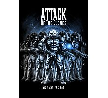 Sontaran's: Attack of the Clones - Size Matters Not Photographic Print