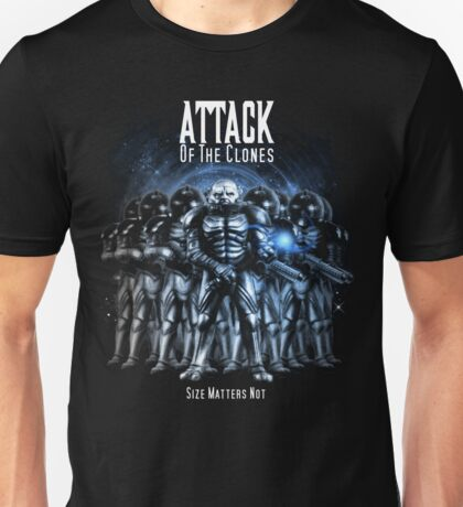 Sontaran's: Attack of the Clones - Size Matters Not Unisex T-Shirt