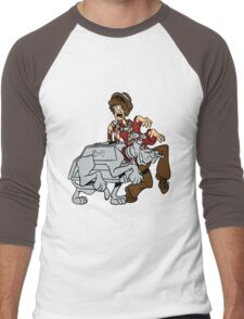 Scooby Who Men's Baseball ¾ T-Shirt