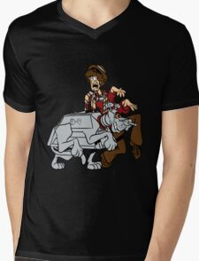 Scooby Who Mens V-Neck T-Shirt