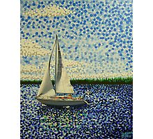 Sailing with Olivia Photographic Print