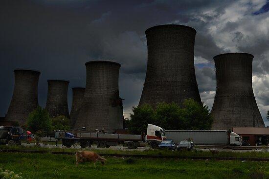 Power plant by Antanas