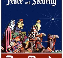 For Peace and Security Buy Bonds - WWII by warishellstore