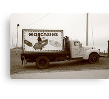 Route 66 - Oklahoma Trading Post Truck Canvas Print