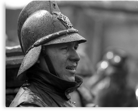 Portrait of a Bombero by photosbytony