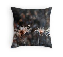 Beauty and the Bog - Flowers Past Throw Pillow