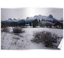 Snow in Canmore II Poster