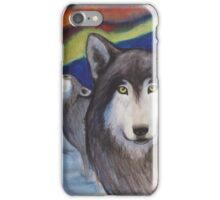 the spirit of the wolf iPhone Case/Skin