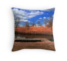 Beauty and the Bog - The Other Side Throw Pillow